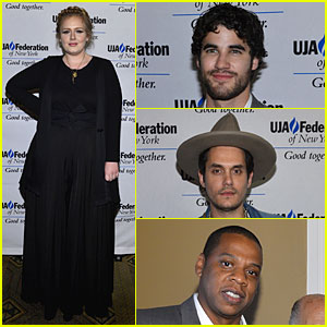 Adele & John Mayer: Rob Stringer Music Visionary Luncheon!