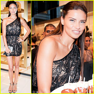 Adriana Lima: Birthday Bash at VC Signature Store Opening!