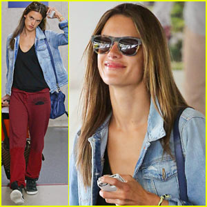 Alessandra Ambrosio: Back in L.A. After CDFA Awards!