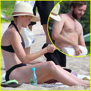 Alexis Bledel: Bikini Vacation with Shirtless Vincent Kartheiser!