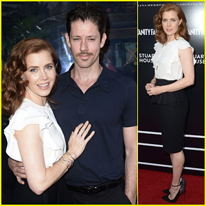 Amy Adams: Carolina Herrera Boutique Opening!