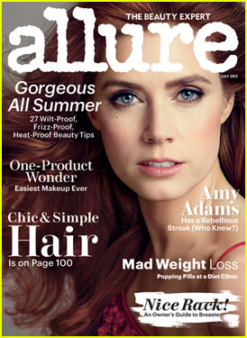 Amy Adams Covers 'Allure' Magazine July 2013