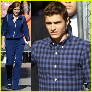Amy Adams & Dave Franco: 'Jimmy Kimmel Live' Guests!