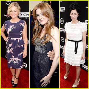 Amy Poehler & Isla Fisher: AFI Life Achievement Award Event!