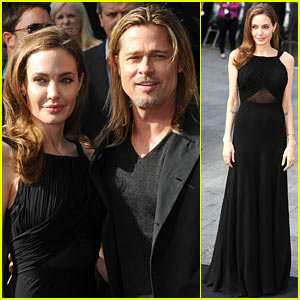 Angelina Jolie & Brad Pitt: 'World War Z' World Premiere!
