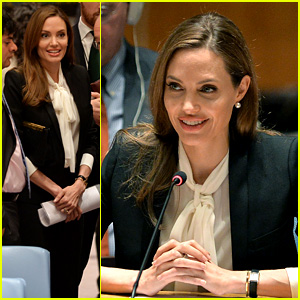 Angelina Jolie: United Nations Security Council Meeting!