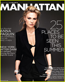Anna Paquin Covers 'Manhattan' June 2013