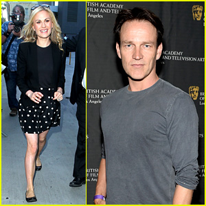 Anna Paquin Visits 'Kimmel', Stephen Moyer Honors Students