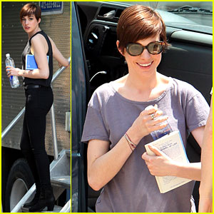 Anne Hathaway: 'Song One' Set!