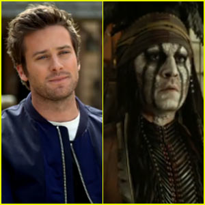 Armie Hammer: 'Lone Ranger' Featurette - Exclusive Video!