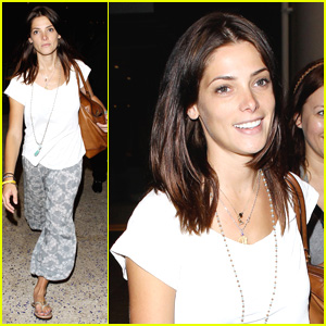 Ashley Greene: 'Glad to Be Home Sweet Home'!