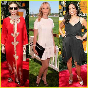 Ashley Olsen & Rosario Dawson: Veuve Clicquot Polo Classic!