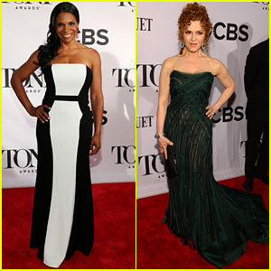 Audra McDonald & Bernadette Peters - Tony Awards 2013 Red Carpet