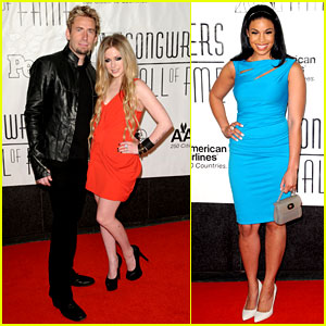 Avril Lavigne & Jordin Sparks: Songwriters Hall of Fame!
