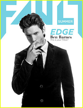 Ben Barnes Covers Fault's Summer 2013 Issue - Exclusive!