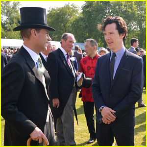 Benedict Cumberbatch: Garden Party at Buckingham Palace!
