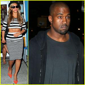 Beyonce & Jay-Z Attend Kanye West's Birthday Celebration