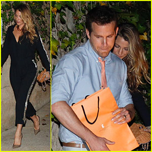 Blake Lively & Ryan Reynolds: Celler De Can Roca Dinner Date!