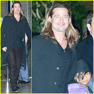 Brad Pitt: 'World War Z' Will Screen in IMAX for Australia & Hong Kong!