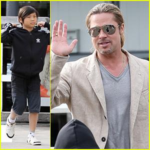 Brad Pitt: Sydney Boat Trip with Pax!