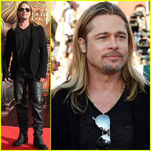 Brad Pitt: 'World War Z' at Moscow Film Festival Opening Night!