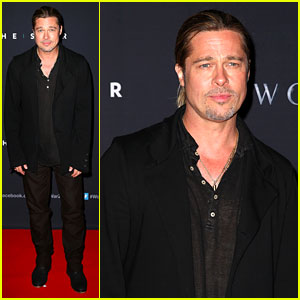 Brad Pitt: 'World War Z' Australian Premiere!