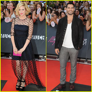 Brittany Snow & Tyler Hoechlin - MuchMusic Video Awards 2013