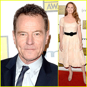 Bryan Cranston & Melissa Leo - Critics' Choice TV Awards 2013