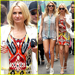 Cameron Diaz & Kate Upton: Chinatown Cuties!