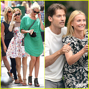 Cameron Diaz: 'Other Woman' Lunch Break with Co-stars!