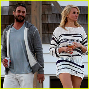 Cameron Diaz & Taylor Kinney: Wine & Beer for 'Other Woman'
