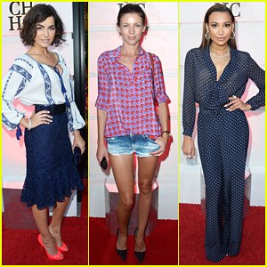 Camilla Belle & Liberty Ross: Carolina Herrera Boutique Opening!