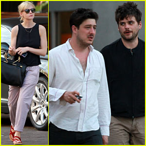 Carey Mulligan & Marcus Mumford Dine Before Ted Dwane Blood Clot News