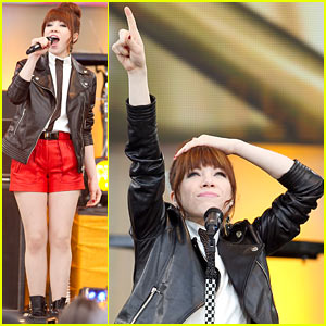 Carly Rae Jepsen Rocks 'Good Morning America'!