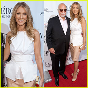 Celine Dion & Renee Angelil: 'Veronic Voices' Opening!