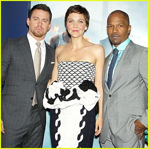 Channing Tatum & Jamie Foxx: 'White House Down' NYC Premiere!