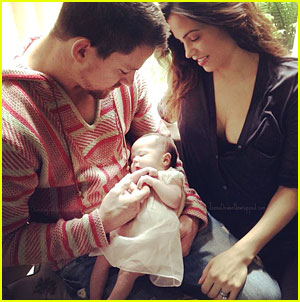 Channing Tatum & Jenna Dewan-Tatum: First Pic of Baby Everly!