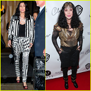 Cher Promotes 'Woman's World' in New York City!