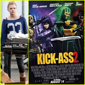 Chloe Moretz: New 'Kick-Ass 2' Poster!