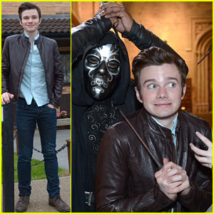 Chris Colfer: Harry Potter Studio Tour in London!