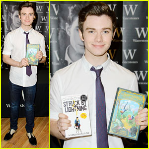 Chris Colfer: 'Struck by Lightning' U.K. Signing