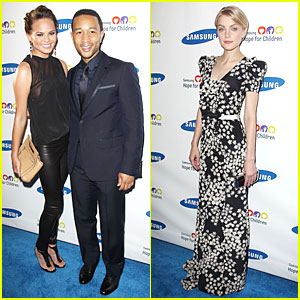 Chrissy Teigen & John Legend: Hope For Children Gala!