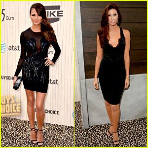 Chrissy Teigen & Katherine Webb - Guys Choice Awards 2013