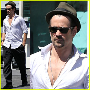 Colin Farrell Honors His Agent Josh Lieberman