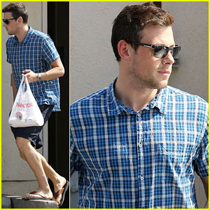 Cory Monteith Grabs Takeout in WeHo
