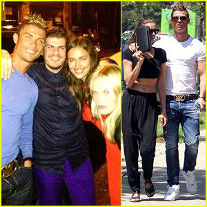 Cristiano Ronaldo & Irina Shayk: New York Lovebirds!
