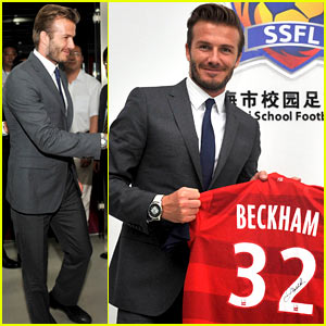 David Beckham Sends Well Wishes to Those Injured at His China Event