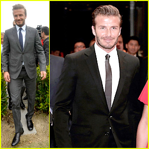 David Beckham's Third Day of China Visit!