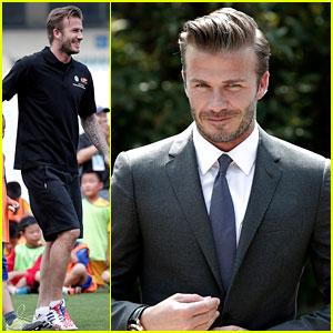 David Beckham Visits China!
