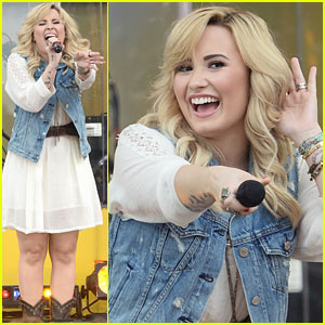 Demi Lovato: 'Good Morning America' Concert Performer!
